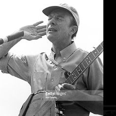 """""""I feel that my whole life is a contribution."""" Remembering #PeteSeeger who passed away today in 2014 at age of 94  Here's a #fav #photo of #singer #songwriter #Seeger performing at a #Garrison NY Picnic on June 17 1968  #FlashbackFriday  #folksongs #singalong #banjo #folklegend #40s #50s #60s #Toshi #activist #GoodnightIrene #folkmusic #rockandrollhalloffame #bobdylan #sloopclearwater #turnturnturn #weshallovercome #famous #paparazzi #photographer #ron_galella  Ron Galella"""