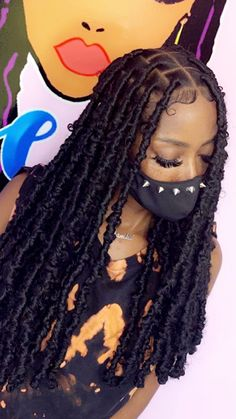 Faux Locs Hairstyles, Braids Hairstyles Pictures, Protective Hairstyles For Natural Hair, Black Girl Braided Hairstyles, Twist Braid Hairstyles, African Braids Hairstyles, Baddie Hairstyles, Hairstyle Ideas, Hair Ideas