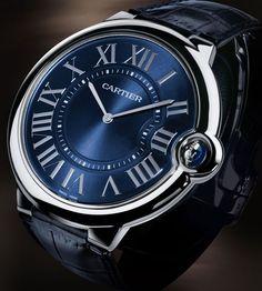 0d8d218c9ea Relógio Ballon Bleu de Cartier extraplano em platina