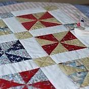 Для дома и интерьера ручной работы. Ярмарка Мастеров - ручная работа Морское одеяло. Handmade.