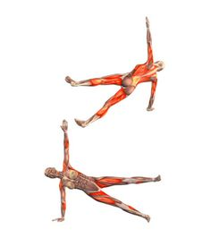 #vasistasana Side plank pose, left leg up. Take the plank pose. Move your weight onto your right hand. Rotate your torso, lifting your left hand from the floor. Raise your left leg.