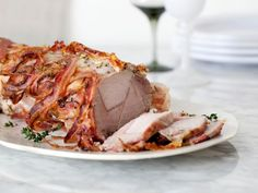 Giada De Laurentiis, Food Network Recipes, Food Processor Recipes, Cooking Recipes, Cooking Pork, Dinner Menu, Dinner Recipes, Roast Dinner, Dinner Table