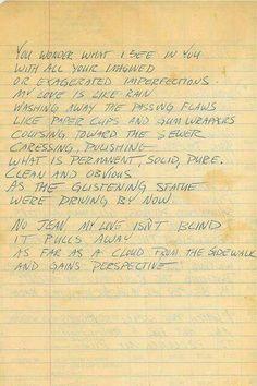 Alex Turner Love Letter To Alexa Chung  BlahBlahBlah