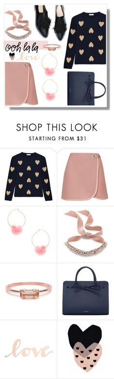 """""""Lovely lady"""" by victoire-marjolaine ❤ liked on Polyvore featuring Chinti and Parker, Topshop, Ettika, Fallon, Bing Bang, Mansur Gavriel, Primitives By Kathy and Seventy Tree"""