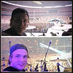 2 stadiums in one day! Unreal. Wembley + Millennium!! So blessed!