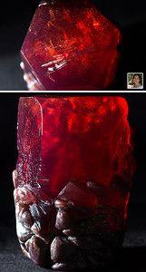 ruby crystal - melt & pour soap