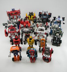Transformers Autobots 1984