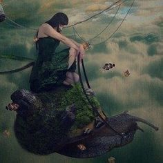 Learn how to create a surreal mother nature photo manipulation. This tutorial will show you how to create a completely surreal scene by combining stock photos and blending them seamlessly. You'll also learn how to fix and enhance the lighting of your images. Totally in this tutorial we are not ble…