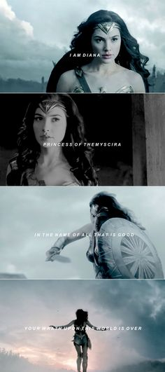 Daughter of Hippolyta, Queen of the Amazons.    #wonderwoman