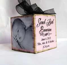 Baby's First Christmas Personalized Photo by SignatureExpressions, $15.00