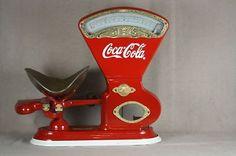 *COCA-COLA ~ small vintage Toledo candy scale.``