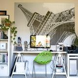 Eiffel Tower wall mural from Eazywallz https://www.eazywallz.com/collections/architectural-wall-murals/products/view-of-the-eiffel-tower-france-wall-mural