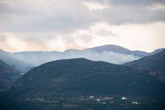 Πυρκαγιά σε δασική έκταση στην Κρήτη