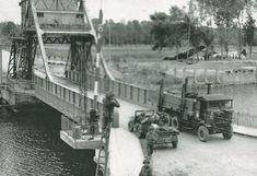 Orne (Pegasus) bridge, Normandy, France