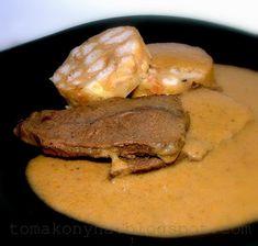 Tomakonyha: magyar Steak, Pork, Food And Drink, Cooking Recipes, Quesadillas, Foods, Drinks, Kale Stir Fry, Food Food