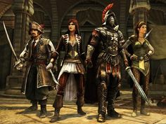 More AC Revelations MP characters
