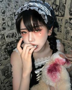 Cute Korean, Korean Girl, Asian Girl, Mode Grunge, Grunge Girl, Aesthetic Women, Aesthetic Girl, Japonese Girl, Himiko Toga
