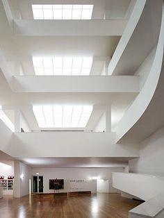 Arquitetura - Álvaro Siza: Fundação Iberê Camargo, Porto Alegre, RS - parte 3 - ARCOWEB