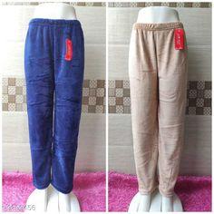 Pyjamas and Lounge Pants  Trendy Women Fancy Lower Fabric: Velvet Pattern: Solid Multipack: 2 Sizes:  32 (Waist Size: 32 in Length Size: 39 in Hip Size: 34 in)  34 (Waist Size: 34 in Length Size: 39 in Hip Size: 36in)  36 (Waist Size: 36 in Length Size: 39 in Hip Size: 38 in)  38 (Waist Size: 38 in Length Size: 39 in Hip Size: 40 in)  40 (Waist Size: 40 in Length Size: 39 in Hip Size: 42 in) Country of Origin: India Sizes Available: 28, 30, 32, 34, 36, 38, 40, 42   Catalog Rating: ★4 (849)  Catalog Name: Ravishing Fashionista Women Palazzos CatalogID_1625983 C76-SC1054 Code: 074-9309456-0021