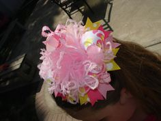 HAIRBOWS Summer Butterfly Boutique OTT by BumbleBeeBowTeek on Etsy, $13.99