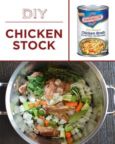 Once you learn to make stock, it will become your secret kitchen weapon. | 30 Foods You'll Never Have To Buy Again