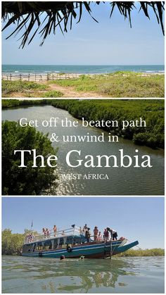 From yoga on the beach to drifting along the river, there are plenty of ways to gt off the baten pathh and relax in The Gambia.