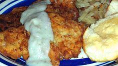 Southern Buttermilk Chicken Fried Pork Chops