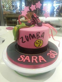 Zumba Cake cake artist Isabeau Conti