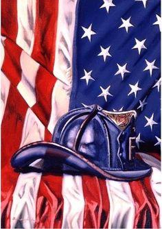 Fireman Hat Patriotic Garden Flag Fire Department x American Firefighter, Firefighter Paramedic, Volunteer Firefighter, Firefighter Decor, Firefighter Pictures, Firefighter Cross, Firefighter Tattoos, Fire Dept, Fire Department