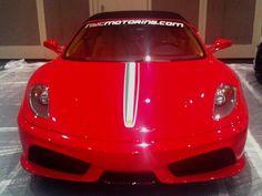 The new Ferrari, to showcase in the New York Auto Show starting tomorrow.