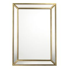 Capital Lighting CM412402 Square / Rectangular Mirror - Brushed Gold at Shop.Ferguson.com