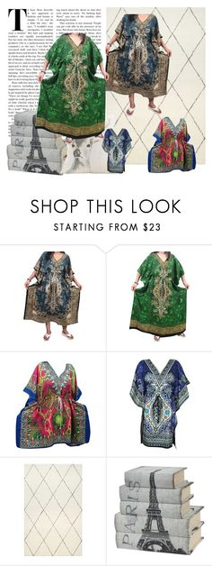 Bohemian Dashiki Resort Wear Dress by tarini-tarini on Polyvore