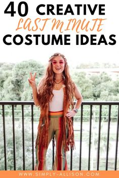 Halloween is rapidly approaching and I know that there is some people who waited to the last minute. If you're one of those people this blog post is perfect for you. It's filled with easy last minute Halloween costume ideas for women, couples, groups, and friends. You can find numerous of DIY costumes that will be perfect for work or for school. #halloweencostumes #halloween #halloweencostumeideas Creative College Halloween Costumes, College Costumes, Easy Halloween Costumes For Women, Best Friend Halloween Costumes, Easy Costumes, Costume Ideas, Easy Last Minute Costumes, Bestfriends, Friendship Bracelets