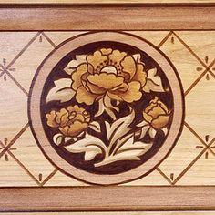 faux inlay wood