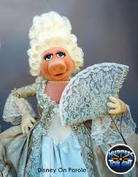 Miss Piggy as Marie Antoinette