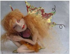 Magee OOAK Fairy Fairies Art Doll Sculpture Figurine Fantasy