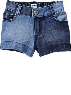 Two-Tone Denim Shorts for Baby $14.94