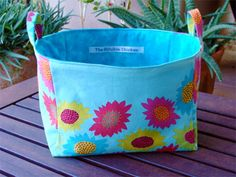 How to Make Fabric Storage Baskets~ Here are 10 terrific ways to make fabric containers, baskets and buckets. These fabric storage basket tutorials will get you organized in style!