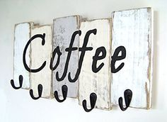 This Coffee Cup Mug Holder will look brilliant in your kitchen and it's so easy to make using a Pallet or Scrap Wood.  Don't miss the Pallet Wine Rack and Nail Polish Coffee Mugs too.