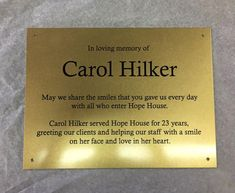 plaque donation wording - Google Search Big Big, In Loving Memory, Memories, Google Search, Day, Table, Souvenirs, In Remembrance, Mesas