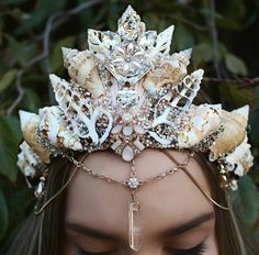 These Handmade Seashell Crowns Will Make You Want to Be Queen of the Ocean - Expanded Consciousness