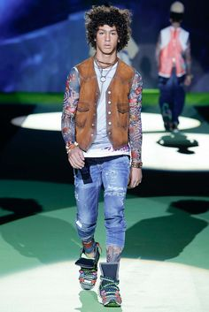 Dsquared² Spring 2016 Menswear - Collection - Gallery - Style.com
