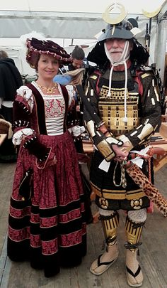 Germany and Japan in the 16th century (Reenactormesse, Minden).  Why the SCA can be cool.