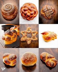 """Challah at Ya from Vienna!"" The Austrian Origins of The Classic Jewish Braided Eggy Yeast Bread (Recipe) Challa Bread, Jewish Bread, Bread Shaping, Bread Art, Yeast Bread Recipes, Jewish Recipes, Challah, Bread Rolls, Sweet Bread"