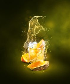 Drinks visualizations on Behance
