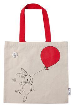 Boo Book Bag by belleandboo on Etsy, £14.00