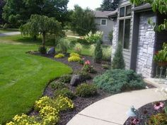 cool-green-landscaping-traditional-grass-and-soil-home-landscape-decorative-big-trees-and-plants-design.jpg 448×336 pixels