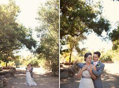 Intimate Ojai Wedding: Lauren + Steve