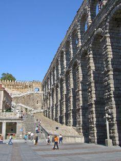 Aqueduct of Segovia 1st Century, Urban Landscape, Roman Empire, The Expanse, San Francisco Skyline, Spain, World, Building, Water