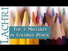 Video by Lachri Fine Art In this video, Lachri is talking about the top 7 mistakes she sees colored pencil artist make when trying to get certain results. Pencil Drawing Tutorials, Drawing Tips, Pencil Drawings, Drawing Techniques, Art Tutorials, Drawing Ideas, Rose Drawings, Pencil Sketching, Drawing Faces